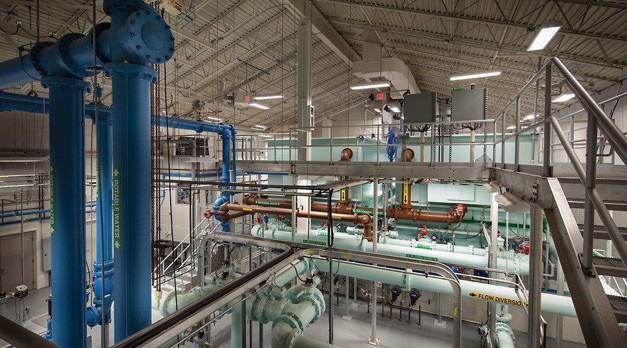 Eau Pleine Water Treatment Plant – Abbotsford, WI