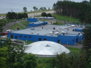 Marquette-Michigan-waste-water-treatment-plant